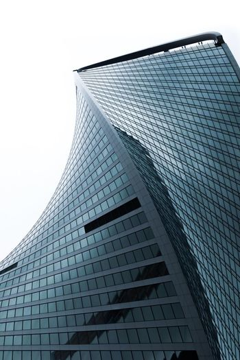 Architecture Building Exterior Low Angle View Built Structure Sky Building Tall - High Pattern Glass - Material Clear Sky Modern Skyscraper Nature Office Building Exterior City No People Office Day Tower Outdoors