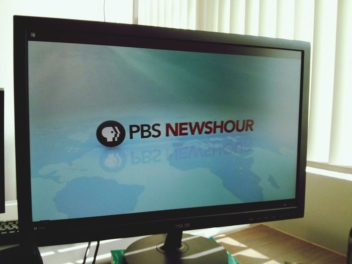 PBS Newshour in the morning. News On TV PBS