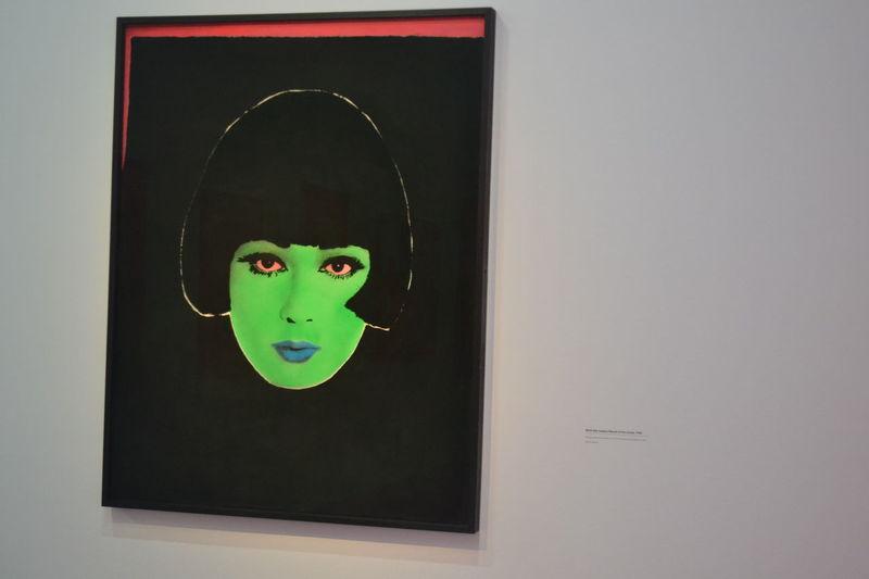 Martial Raysse Art Art Gallery France Paris Close-up Woman Portrait Colors Fluo  Neon Life