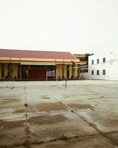 📆30042016 April30 Volleyball Court Myoldschool Hometown Vietnam Love 💖
