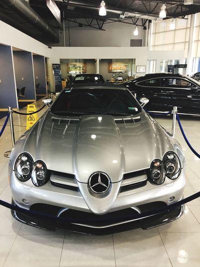 Mercedes SLR McLaren Car Transportation Land Vehicle Indoors  Mode Of Transport No People Technology Racecar Day Mercedes SLR McLaren Million Dollar Car