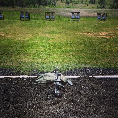 Always a fun weekend when we shoot our rifles Rifles Drillweekend M4 Sharpshooter Funweekend