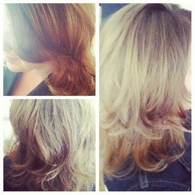BlowDrying hair this morning... Blowoutoftheday Blowout Curls Hair