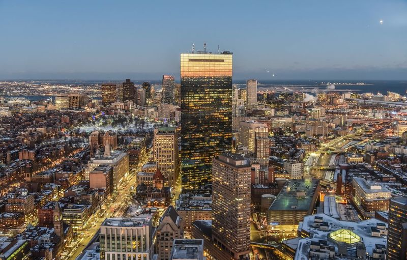 Light and night view Boston Night Light Boston Building Exterior City Architecture Built Structure Cityscape Crowd Building Sky Crowded Skyscraper Office Building Exterior Illuminated Modern Residential District Nature Tall - High Financial District  Night High Angle View Office