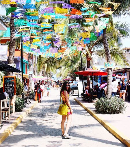 Walking Women Market Day Beach Visitmexico Sayulita Mexico #beach Smiling Beatifull