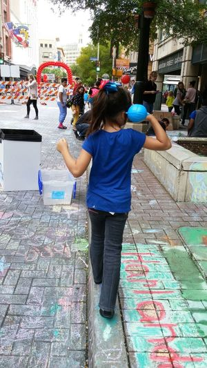 Chalk Drawing Event. Getting Inspired
