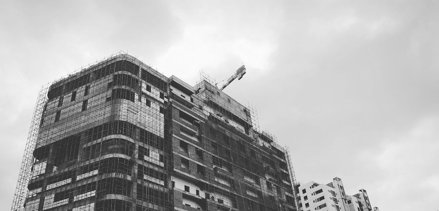Minimal Building Bangalore Construct Bnw
