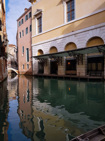 Gran Teatro La Fenice Canals Reflections And Shadows Reflections In The Water Historical Buildings Theatres  Architecture Water Building Exterior Day Outdoors No People City Sky