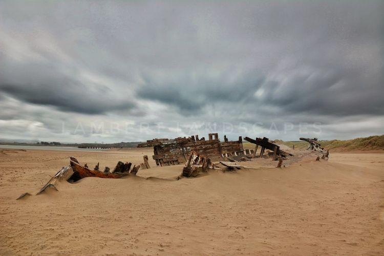 seen better days Shipwreck Abandoned & Derelict Abandoned Places Desolate Long Exposure Longexposurephotography Southwest  Devon Sand Day Cloud - Sky Nature Sky Outdoors Sand Dune No People