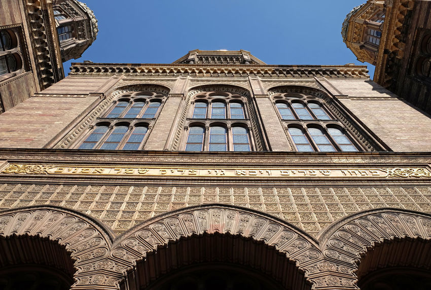 Berlin Berlin Photography City Arch Architecture Building Building Exterior Built Structure City Discover Berlin Germany History Low Angle View Outdoors Synagogue Travel Destinations Wide Angle Window