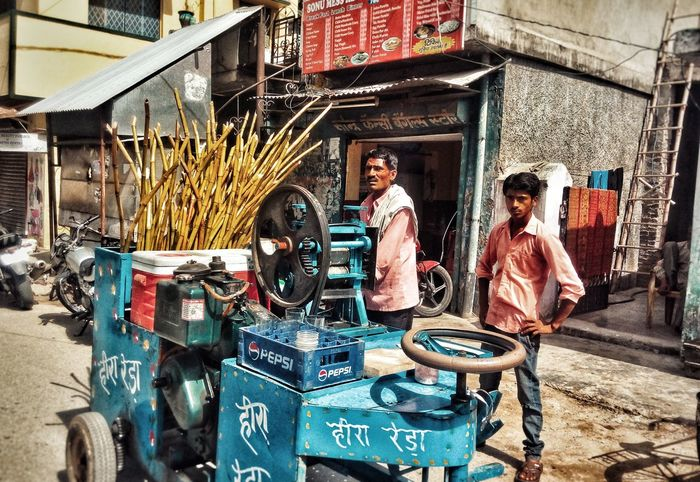 EyeEmNewHere summer is so strong!!! so is the level of relieving it!! Real People Land Vehicle Sugarcane Juice Greatindia Incredible India Phoneclicked Live For The Story