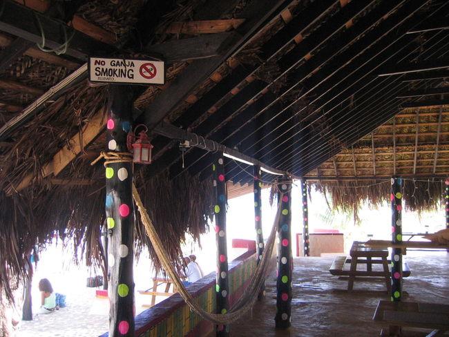 Ganja Information Sign Jamaica Jamaican No Ganja Smoking No Smoking Vacations
