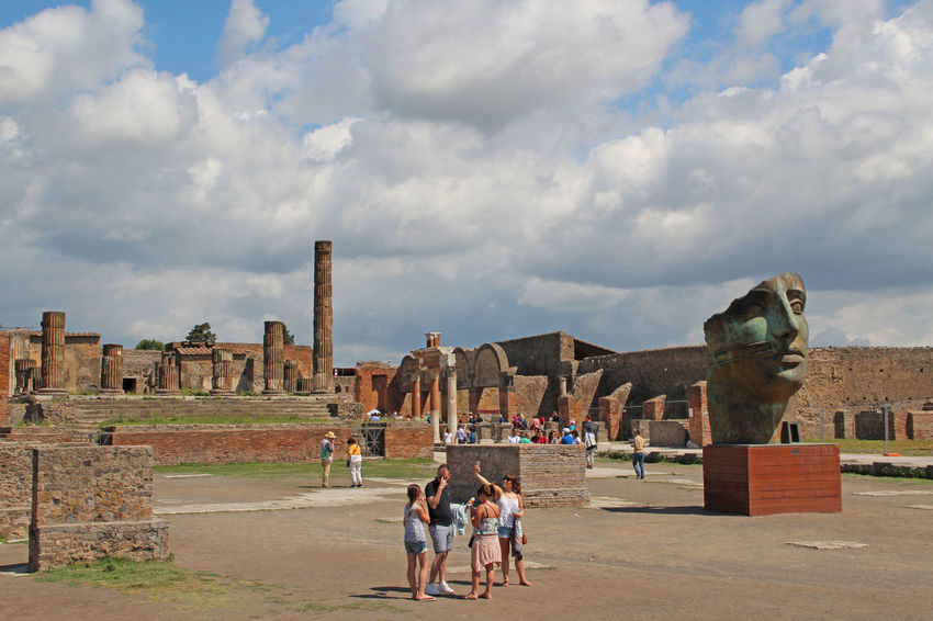 Pompei - antique City Ancient Ancient Civilization Architecture Built Structure Famous Place History International Landmark Italia Italy Old Ruin Outdoors Pompeii  Pompeji The Past Tourism Tourist Travel Destinations
