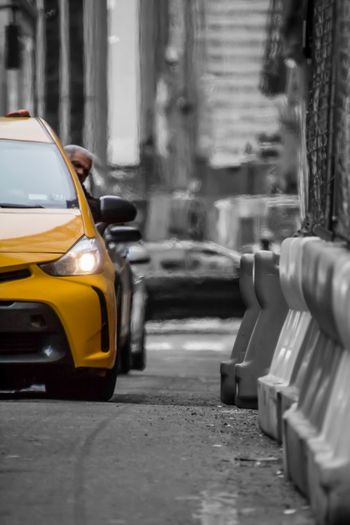 New York Cab Mode Of Transportation Car Transportation Motor Vehicle City Street Land Vehicle Yellow Taxi The Street Photographer - 2018 EyeEm Awards