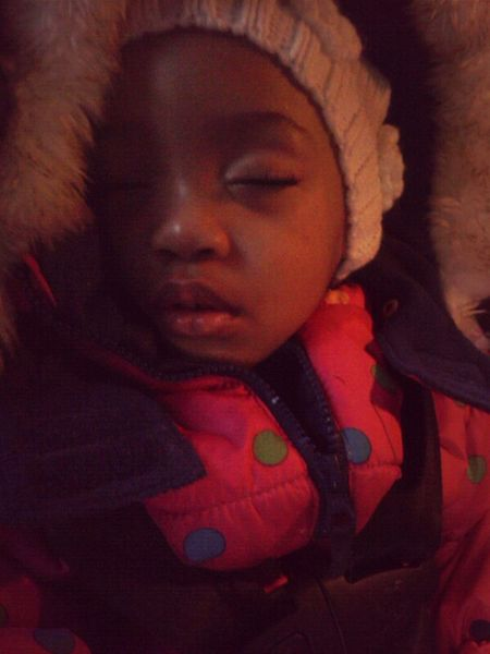 She's so precious when she sleep :)