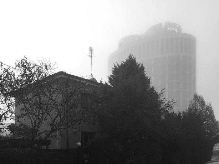 Perspectives Showcase: November Eye4blackandwhite Black And White Monochrome Shades Of Grey Fog Urban Landscape Architecture Cityscapes Blackandwhite EyeEm Best Shots - Black + White