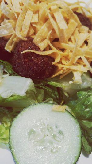 Salad Scallops Seafoodporn Foodporn