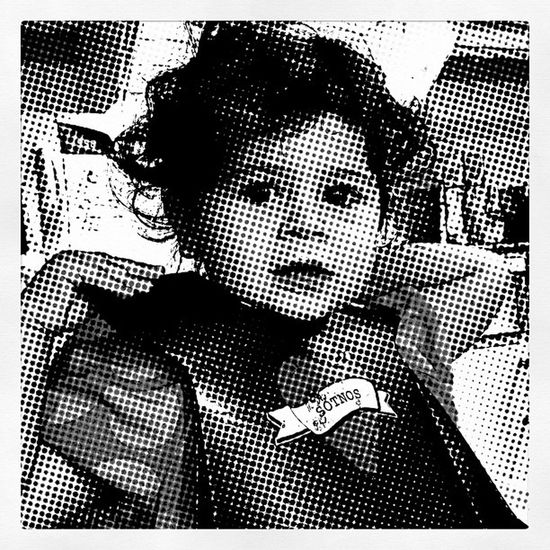 Breakfast time! Baby Halftone Breakfast Sundaymorning