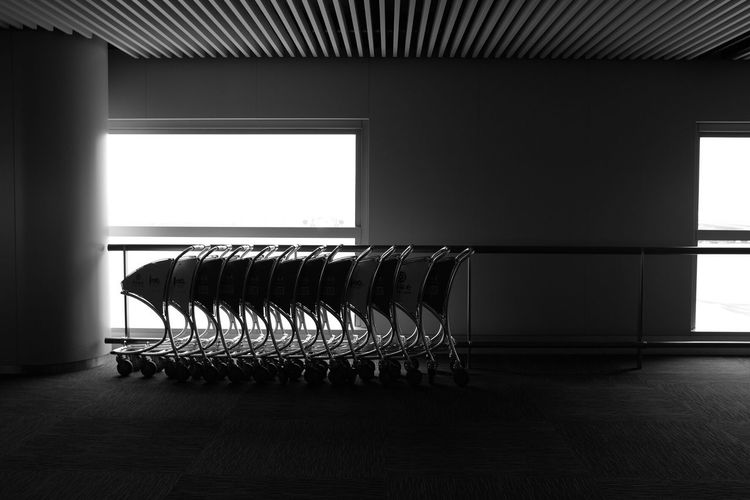 Airport Travel Black And White X100t Silence South China