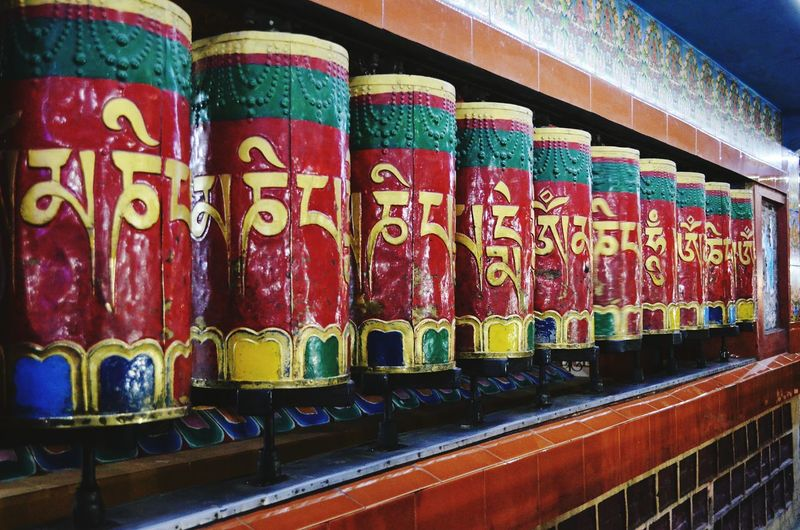 Travel Photography Travelling Colors Prayer Budha Temple Meditation Place God Colorful Eye For Photography Hello World Taking Photos Green Color Red Color Yello Colour