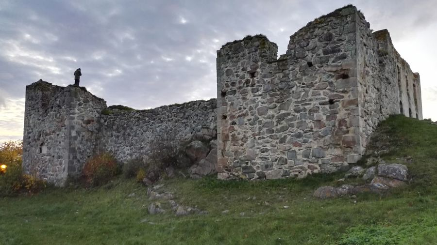Architecture Building Exterior Built Structure Castle Cloud - Sky Evening Grass History Old Ruin Outdoors Sky