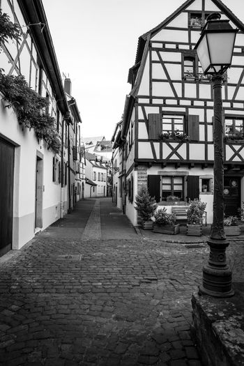 Ye Olde Tavern. Architecture Built Structure Building Exterior Outdoors City Travel Photography Travel Traveling Travel Destinations Lovely Place Architecture_collection Colmar, Alsace, France Colmar Blackandwhite Black And White Black & White Blackandwhite Photography France Vive La France Small Street Lovely Street Lantern Architecturelovers Alsace Architecture