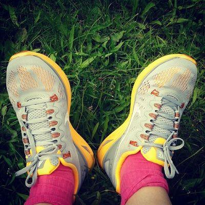 Я начала заниматься бегом с приложением Nike. Пока еще довольно тяжело, но, думаю, результат стоит того. Just do it! Nike Run