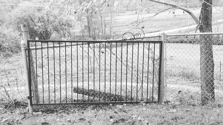 Old time gate