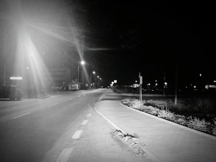 night Working Hard