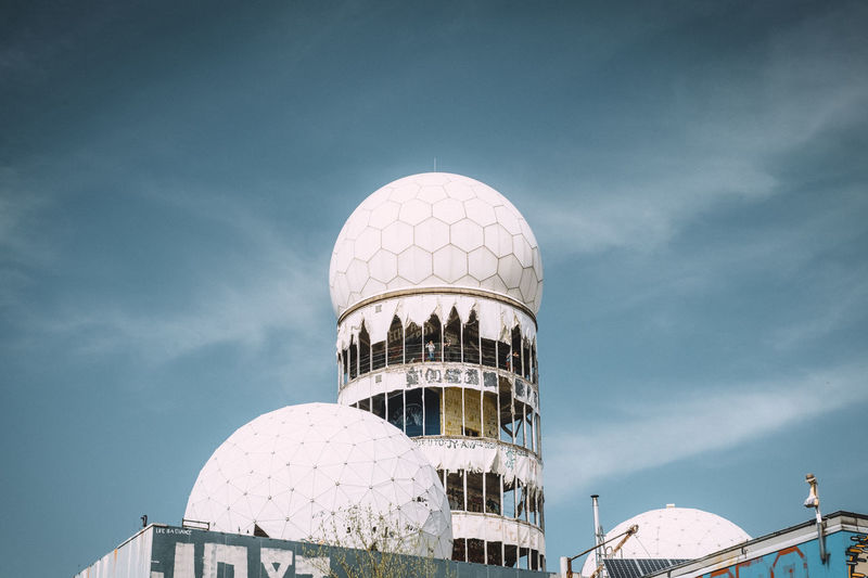 Devil's Mountain Abandoned Places NSA Abandoned Adventure Built Structure Dome Low Angle View Old Sphere Teufelsberg Travel Travel Destinations