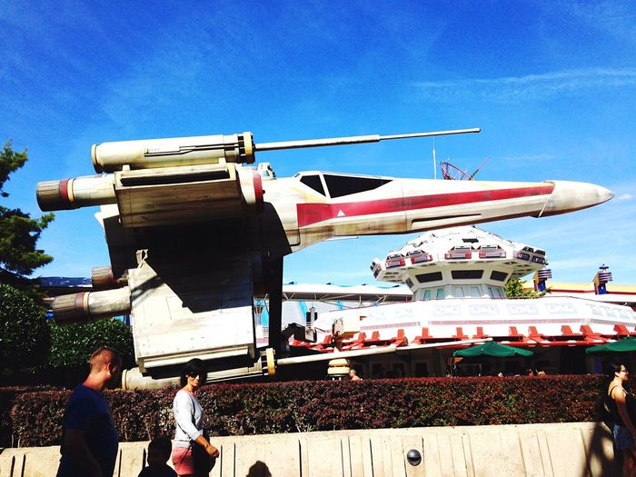 Xwing Disneyland Paris May The Force Be With You