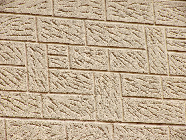 Crepi Textured  Wall - Building Feature Repetition Alternation Rotation Crepi Pattern Architecture Pattern Brick Pattern Textured  Art And Craft Full Frame Design Rough Crepi Wall Textured Wall 4x3photography Close-up