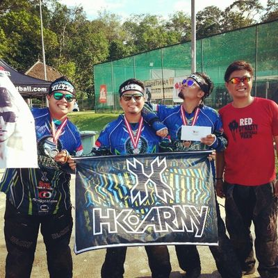 2nd place baby!! 1st podium in aaaages!! Contractkillerssg Paintball Hkarmy @datzphat @greggoana77 TEAM.KILL.WIN!!