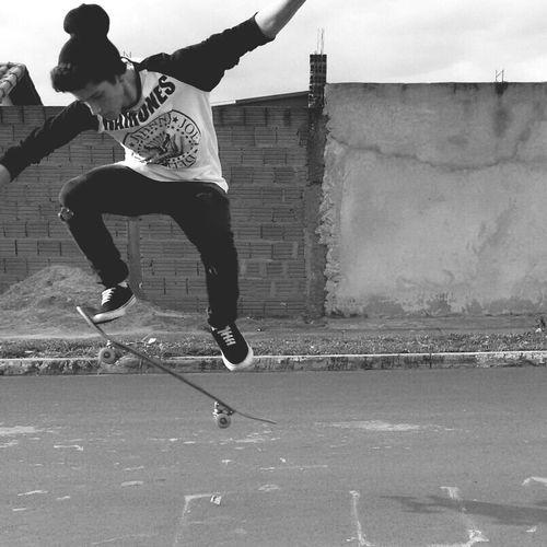 Skateboarding Everyday