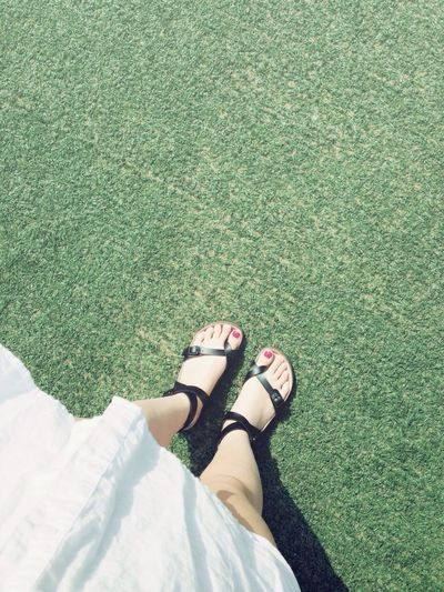 Fashion Shoes Taking Photos Selfie 날 좋은 날 <33333