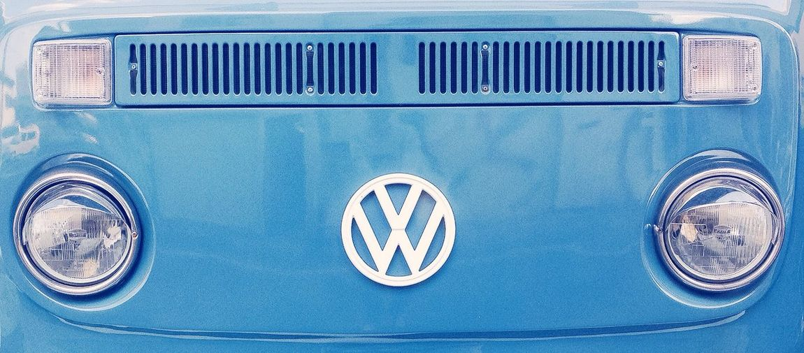 Car Volkswagen Blue