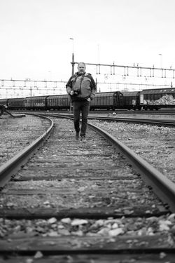 Monochrome Fujifilm Xpro1 Xf35mm Fuji Xpro1 Black And White Portrait Trainyard