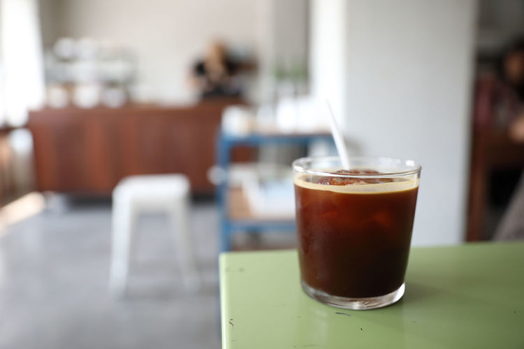 Drink Food And Drink Table Refreshment Focus On Foreground Indoors  Glass Drinking Glass Close-up Still Life Coffee Household Equipment Coffee - Drink Selective Focus No People Brown Day Food Hot Drink Freshness