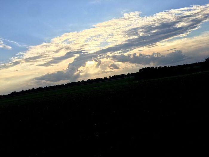 EyeEmNewHere Nature Sky Sunset First Eyeem Photo EyeEmNewHere
