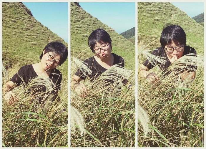 Enjoy The New Normal Young Adult Friendship Clear Sky Portrait Yuppie Taiwan Taipei Chienese Silver Grass Travel