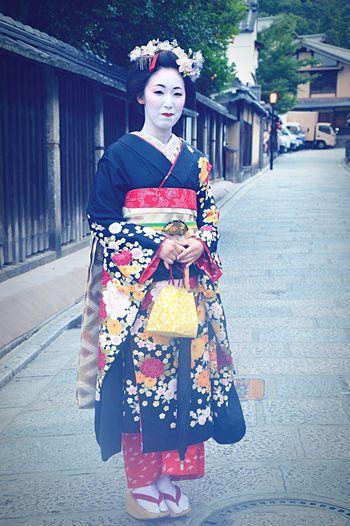 Japan Tokyogirls Japanese Style Traveling Geishagirl Cute♡ Beautiful Kyoto Portrait Of A Woman