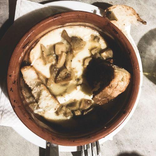 Porcini Mushrooms Chess Provola Melted Melted Cheese Bread RegionallProducttCampaniaaDelacruzfotografiaaDavid De La Cruzz