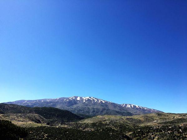 Lebanon Mount Hermon WEST BEKAA Mountains Landscape