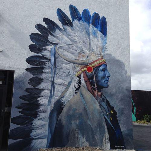 Street Art Art Art, Drawing, Creativity Artist Indien Amerique Adapted To The City