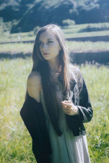 Long Hair Young