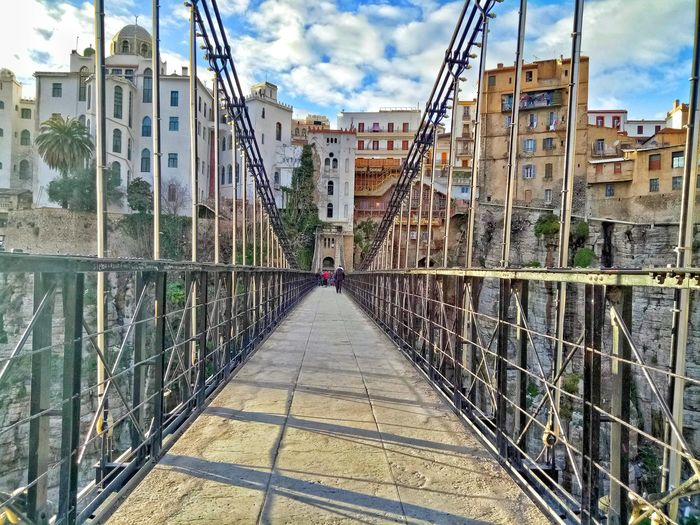 Constantine's Hanged Bridge #urbanana: The Urban Playground City Shadow Sky Architecture Building Exterior Built Structure Cloud - Sky