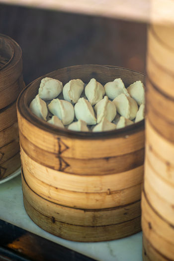 Chinatown Streetphotography Dumpling  Dim Sum Nutritional Supplement Close-up Sweet Food Food And Drink Steamed  Chinese Dumpling Chinese Takeout Bamboo - Material Asian Food Chinese Food