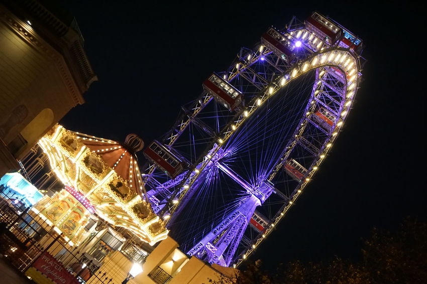 Prater Prater ❤️ Prater/Vienna Vienna Vienna Austria Vienna Alps Vienna, Austria Architecture Building Exterior Built Structure City Clear Sky Ferris Wheel Illuminated Low Angle View Night No People Outdoors Praterstern Sky Travel Destinations Vienna View  Vienna_city