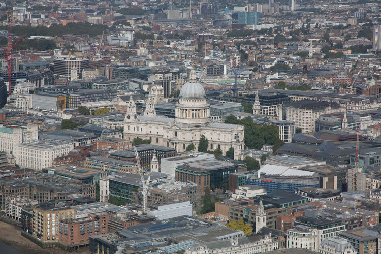 Aerial View Architecture City Cityscape Dome London Aerial London Sky Line London Streets Travel Travel Destinations Urban Sprawl