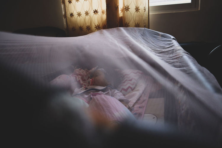sleeping child Sleeping Baby Sleeping Baby  Child Babygirl Calm Close-up Bedroom Bedtime Napping Lying On Side Mattress Bed Textile Factory Loom Duvet Fabric Sheet Insomnia Nightwear Hotel Room Pillow Waking Up Textile Double Bed Night Table